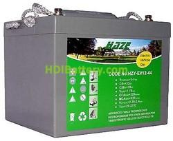Batería para moto eléctrica 12v 44ah Gel HZY-EV12-44 HAZE